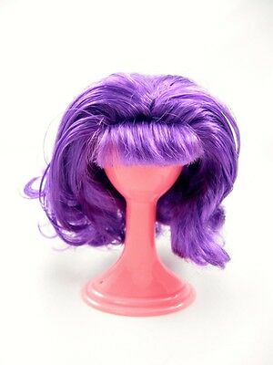 Liv Doll~Curly Purple Wig Only