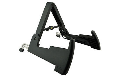 AGS03 Light Strong Musical Instrument Acoustic Electric Guitar Bass Stand Holder