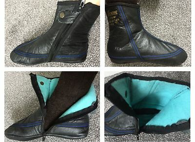 High Quality Leather Socks Khuffs FULL FLEECE LINING size 7 8 9 10