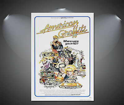 American Graffiti Vintage Movie Poster - A1, A2, A3, A4 available