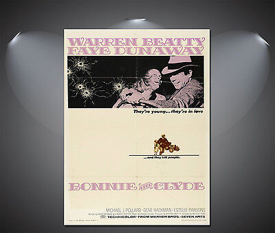 Bonnie and Clyde Vintage Movie Poster - A1, A2, A3, A4 available