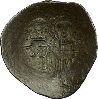 ALEXIUS III 1195AD Saint Constantine Jesus Christ Ancient Byzantine Coin i40319