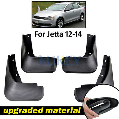 Fit For 2011-2014 Vw Volkswagen Jetta Mk6 Vento Mud Flaps Splash Guards Mudguard