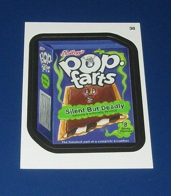 WACKY PACKAGES ANS10 RED LUDLOW POP FARTS #38   @@  VERY RARE  @@