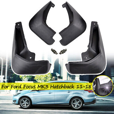 Fit For 2012-2016 Ford Focus Mk3 5Dr Mud Flaps Splash Guards Mudguard Hatchback