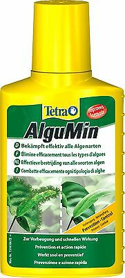 TETRA AlguMin 100,250,500ML FISH TANK AQUARIUM ALGAE TREATMENT