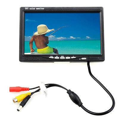 "30m 7"" T/L color Video Camera Fish Finder HD 600TV Lines Underwater Camera"