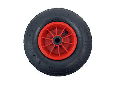"12"" pneumatic wheel 4.00 - 6 sack truck / trolley / wheel barrow wheel 20MM BORE"
