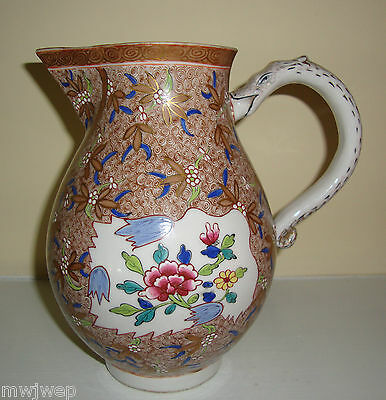 Herend RARE Mid to Late 19th Century Large Water or Milk Jug ca. 1870 Serpent
