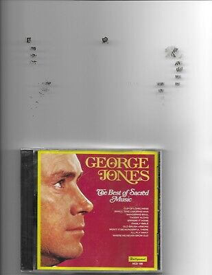 "George Jones, Cd ""The Best Of Sacred Music"" New Sealed"
