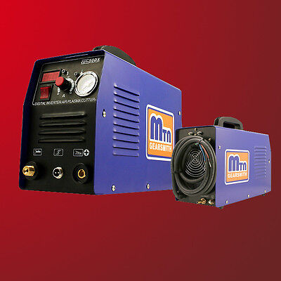 New 50 AMP AIR PLASMA CUTTER DC INVERTER 50A CUTTING Dual Voltage 110V 220V 50A