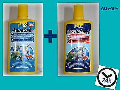 Tetra Easy Balance & Aquasafe Twin Pack 100,250, 500Ml - First Class Postage