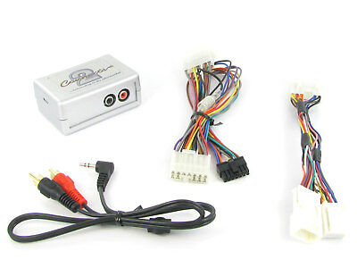 Toyota AUX adapter Avensis Corolla  lead 3.5mm jack input car iPod MP3 CTVTYX002