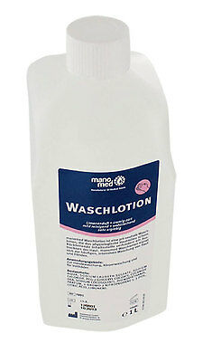 Waschlotion, 1 Liter Flasche, pH-neutral, Seife, Cremeseife, Lemon
