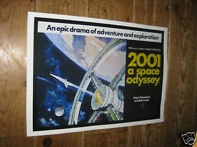 2001 A Space Odyssey Repro Film POSTER Epic