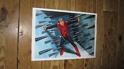 Captain Scarlet Artwork Wall POSTER