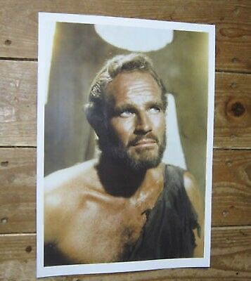 Charlton Heston Planet of the Apes POSTER chest