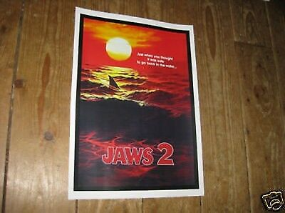 Jaws 2 Repro Film POSTER