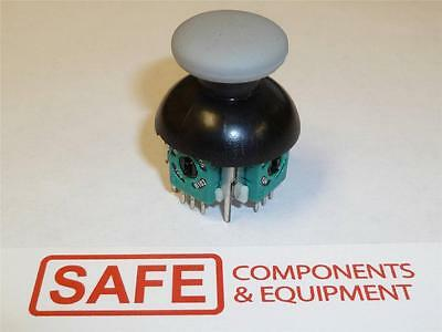 Thumb Joystick MEGATRON 802 Subminiature 2-Axis Push Button Controller C55