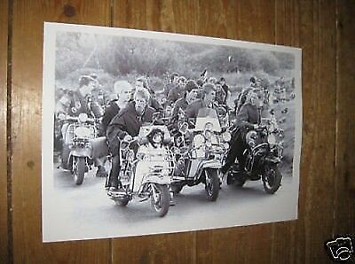 Quadrophenia Awesome POSTER BW Scooters