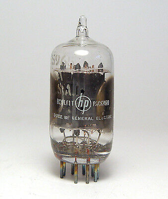 General Electric / Hewlett Packard 5965 Röhre, Clear Top, Audio Preamp Tube