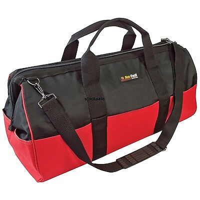 """Heavy Duty 24"""" Multi Purpose Tool Bag Diy Storage Carry Case With Shoulder Strap"""