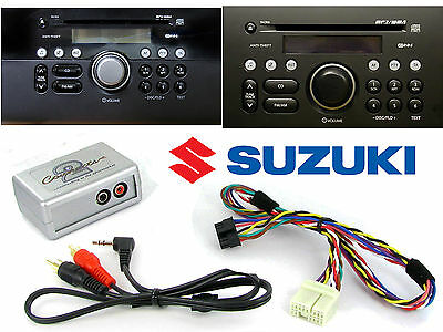 Suzuki Grand Vitara Swift AUX adapter lead 3.5mm jack in car iPod MP3 CTVSZX001
