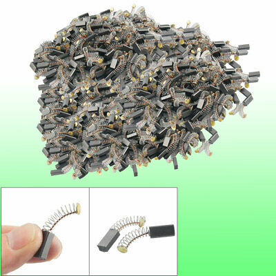 200 Pcs 4mm x 6mm x 12mm Electric Motor Carbon Brushes