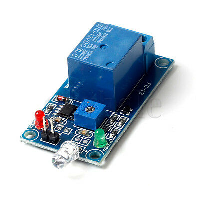 12V Light-operated Switch Photosensitive Resistance and Relay Module