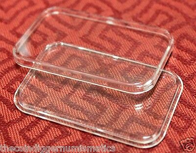 10 Air-tite Direct Fit Capsule Holder for 1oz Silver Bar Acrylic Case Airtite