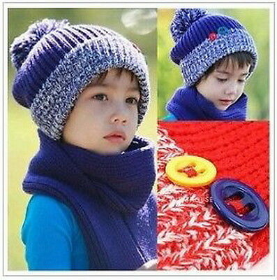 Kids Boys Girls Fashion Winter Hat - Multiple Colors