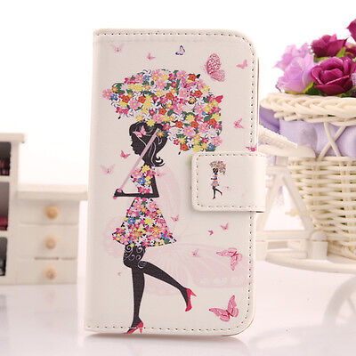 BUTTERFLY  CUSTODIA COVER IN ECO PELLE CASE PER Samsung Galaxy Note 3 Neo N7505