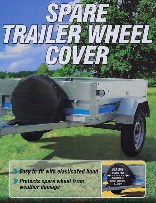 """10"""" Trailer Spare Wheel Cover - Suitable for Erde & Daxara Trailers"""