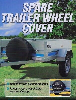 "13"" Trailer Spare Wheel Cover - Suitable for Erde & Daxara Trailer"
