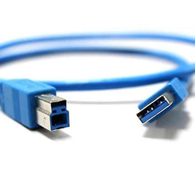 SuperSpeed Standard USB 3.0 Type A Male to Type B Male M/M Cable Adapter 3FT/1M
