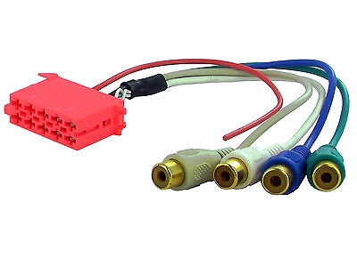 non di serie AMP line pre out 4+SUB canali channel BLAUPUNKT BECKER aftermaket