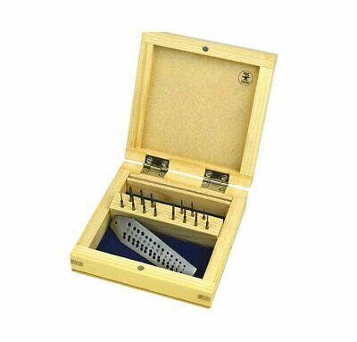 Mini Tap & Die Set 8 Taps Screwplate Micro Tool For Jewelry Making Threading