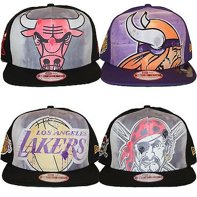 7415a39cfdd272 New Era 950 9Fifty Over Watercolor Collection Snapback Baseball Cap Hat