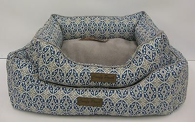 Comfy Pooch Pet Bed, Ultra Soft with Bolster for Added Support