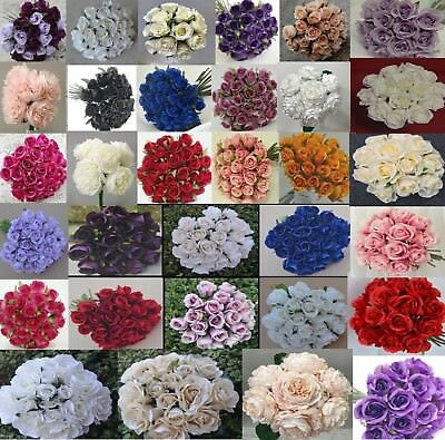 Silk Rose Roses Pre Made Bouquets Wedding Bridal Bouquet Artificial Posy Peony