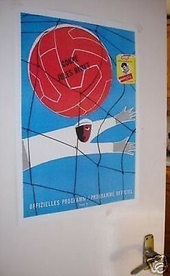 1954 World Cup Official Poster Repro