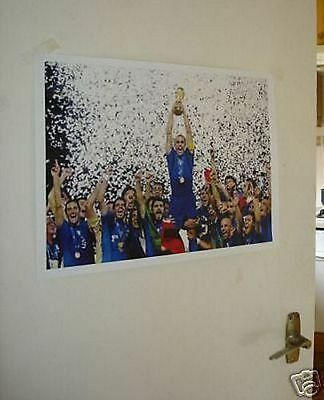 Italy 2006 World Cup Winners Poster NEW #2 White