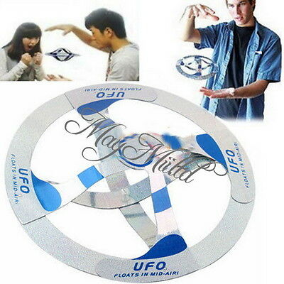 Amazing Mystery UFO Floating Flying Disk Saucer Magic Cool Trick Toy Sales M