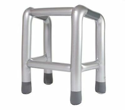 Inflatable Zimmer Frame Blow Up Novelty Party Joke Gift Present