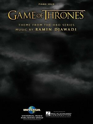 Game of Thrones Theme Sheet Music Theme from the HBO Series Piano Solo 000101795