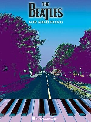 The Beatles for Solo Piano Sheet Music Piano Solo Book NEW 000307079