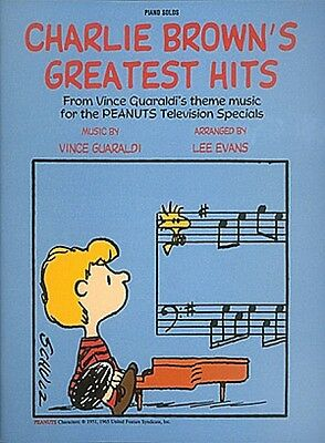 The Charlie Brown Collection Sheet Music Beginning Piano Solo SongBook 000153652