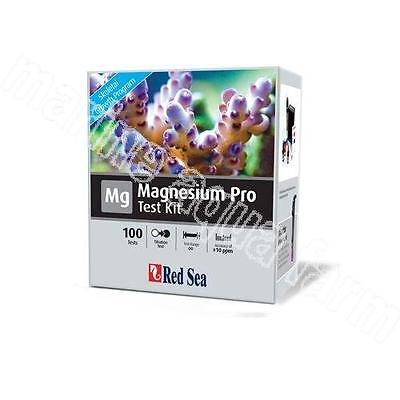 Red Sea Magnesium Pro Test Kit, Marine Aquarium, Reef, Coral, Mg, 100 Tests