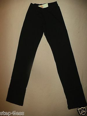 NWT Bal Togs adult XLarge- Black hip hugger  dance  cotton jazz pants -#3645
