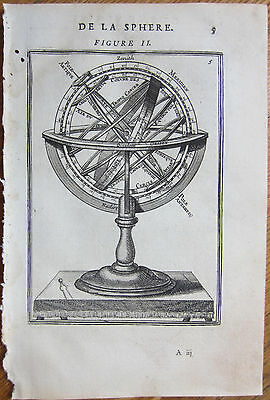 MALLET: Armillary Sphere Astronomy - 1683